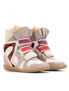 Isabel Marant suede sneakers.  I want!!!
