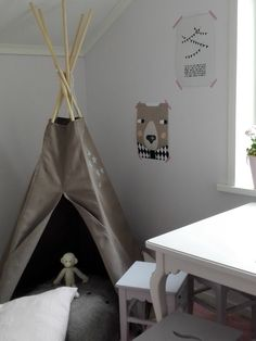 Vintage living: intiaaneja ja karhuja lastenhuoneissa (Seinäjoki 2016)