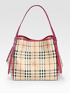 5579e4786d1c Burberry - Cantebury Coated Canvas Tote