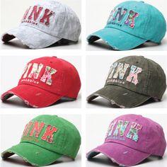 B47 Women Flower Print Lady ROSE PINK Washing Flat Ball Cap Baseball Hat Trucker