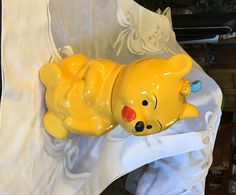 Vintage 1970's Disney Winnie The Pooh Disney Cookie Jar by KatsVintageTreasures on Etsy