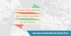 ❝ El mapa de la vida humana en la tierra ❞ ↪ Vía: Entretenimiento y Tecnología en proZesa