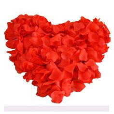 UGE 4000 PCS Artificial Silk Rose Petals Carpet Flowers Bulk for Wedding Favor Party Decoration (Red) *** To view further for this item, visit the image link.