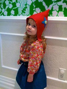 girl gnome hat