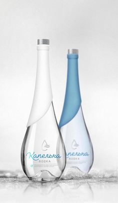 Droplet Vodka packaging by BrandPa