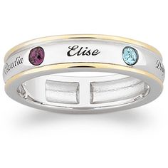 I like this mother's ring.