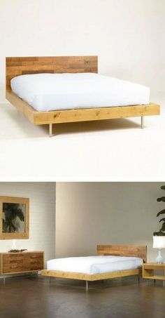Harris Reclaimed Wood Bed