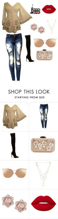 """""""My kind of style"""" by fariyellibug ❤ liked on Polyvore featuring interior, interiors, interior design, home, home decor, interior decorating, Linda Farrow, Ettika, Lime Crime and Laura Geller"""