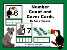 This Number Count and Cover set provides counting practice, while also providing a resource for helping students understand the ten frame. It is an easy to use packet that makes for a good center, or small group activity.