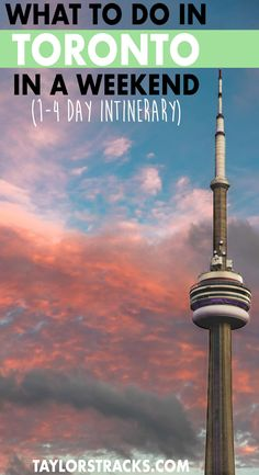 Toronto is a must visit city in Canada and with so much entertainment you will never be bored! Click to find the ultimate Toronto itinerary to help you plan 1-4 days in the city for an epic time! #toronto #canada ***** Toronto Canada Toronto Canada thin