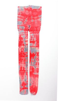 Women's hand dyed tights