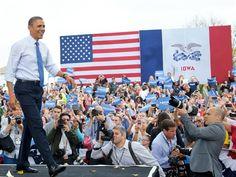 Ad spending on presidential race surpasses $900 million (Photo: Mandel Ngan / AFP - Getty Images) #NBCPolitics