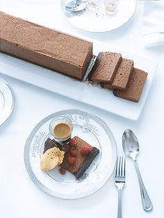 Donna Hay's double chocolate mousse
