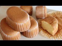 How to Make Easy and Fluffy Honey Castella Cupcakes, Cupcake Cakes, Bolo Chiffon, Honey Cake, Just Cakes, Baking Tins, Cake Flour, Cake Tins, Sponge Cake
