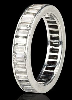 lot Marilyn Monroe's platinum and diamond eternity wedding band given to her by Joe DiMaggioA platinum eternity band set with Marilyn Monroe Wedding, Joe Dimaggio, Norma Jeane, Anniversary Bands, Diamond Are A Girls Best Friend, Wedding Bands, Wedding Ring, Dream Wedding, Eternity Bands