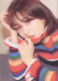 Image discovered by ℛ 𝓞 𝓢 𝓔́. Find images and videos about kpop, korean and twice on We Heart It - the app to get lost in what you love. Nayeon, Btob, Mamamoo, Pop Group, Girl Group, Photo Scan, Jihyo Twice, Chaeyoung Twice, Twice Kpop