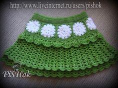 Faldas para las niñas de punto de ganchillo .. Discusión sobre LiveInternet - Servicio de Rusia diarios online