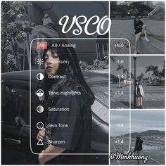 Photography Filters, Photography Editing, Aesthetic Filter, Aesthetic Photo, Vsco Tutorial, Lightroom Tutorial, Foto Filter, Fotografia Tutorial, Best Vsco Filters