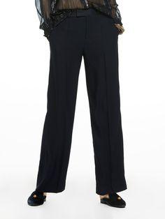 Wide Leg Tailored Pants