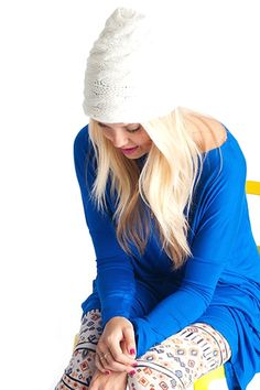 CABLE KNIT SLOUCHY BEANIE - CREAM http://www.thetrendykitten.com/accessories/cable-knit-slouchy-beanie-cream