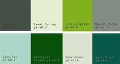 Plascon Paints Green Colour Sample