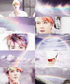 Weather Edits - Rainbow - EXO/Sehun