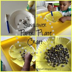 Sunflower Craft for tots
