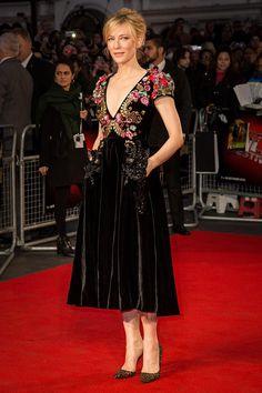 El maravilloso recogido de pelo de Cate Blanchett en el Festival de Cine de Londres