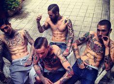 #inked #ink #tattoos #tattoo #inkedguy #malemodel #inkedmag #tattooedmen #tattooedboys #menwithtattoos #boyswithtattoos