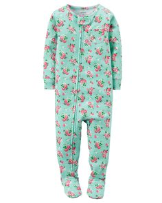 Toddler Girl 1-Piece Snug Fit Cotton PJs | Carters.com