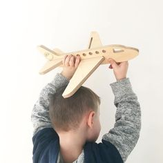 Held by little hands fuelled by big imaginations 🙌🏼✈️ For adventurous aviators and first-time pilots, watch their imagination take over as Monday the Plane soars through the sky. Aviators, Pilots, Plane, First Time, Imagination, Hold On, Rooms, Hands, Sky