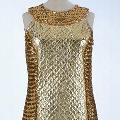 Evening dress, Leonard Joseph, 1968. Museum no. T.297-1974. © Victoria & Albert Museum, London