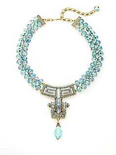 Heidi Daus Distinctive Opulence Crystal Necklace - I saw this at the store and it is GORGEOUS