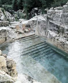 Piscina on the rocks