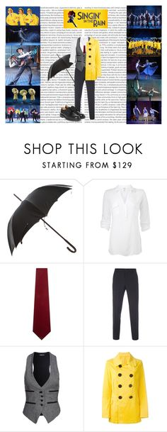 """""""Don (Singin' in the Rain)"""" by jivy44 ❤ liked on Polyvore featuring Oris, Dolce&Gabbana, Splendid, Drakes London, Paul Smith, Denham, Dsquared2 and Church's"""