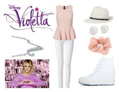 """Violetta - Llamate"" by violetta-leonetta ❤ liked on Polyvore featuring art"