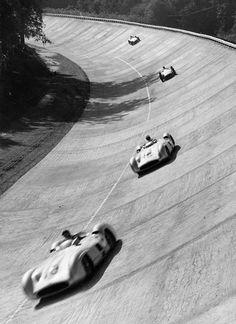 Les Mercedes de Juan Manuel Fangio Monza 1955