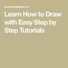 Learn How to Draw wi