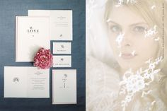 luxury wedding stationary by Carte Royale. Pictures: Oxana Ross
