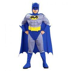Batman Çocuk Kostüm Lüks 12-14 Yaş