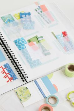 good way to organize scrap paper