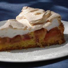 Rhabarberkuchen (rhubarb cake)
