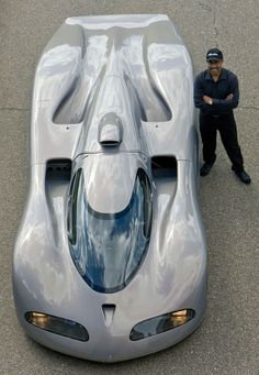 Oldsmobile Aerotech - The Oldsmobile Aerotechs were a series of experimental high-speed vehicles created between 1987 and 1992 incorporating the latest in performance technology with the intention of breaking multiple automobile speed records. The first such car was driven by four-time Indy 500 winner A.J. Foyt to a world closed-course speed record of 257.123 mph (413.788 km/h) on 27 August 1987.