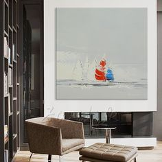 Cheap art pictures, Buy Quality picture for bedroom directly from China oil painting boat Suppliers: Hand painted canvas oil paintings Cheap large modern abstract oil painting boat seascape wall decor Art pictures for bedroom 20 Cheap Paintings, Oil Paintings, Hand Painted Canvas, Canvas Frame, Cheap Art, Oil Painting Abstract, Art Pictures, Wall Art Decor, Gallery Wall