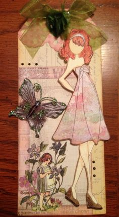 New Julie Nutting doll stamp