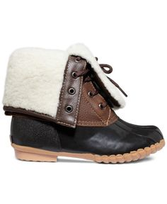 Sporto Women's Daphne Faux-Fur Booties - Winter & Rain Boots - Shoes - Macy's