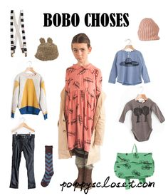 Bobo Choses AW13 // poppyscloset.com #kids #fashion