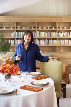 The Barefoot Contessa herself, Ina Garten. A domestic goddess and my personal patron saint....well, her, Ruth Bader Ginsburg and giant squids.