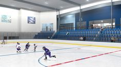 Rendering of Florida Hospital Center Ice in Wesley Chapel, Fla.