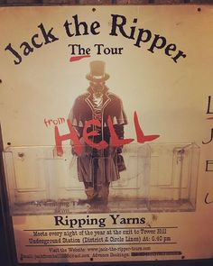 Jack the ripper Tour from Hell